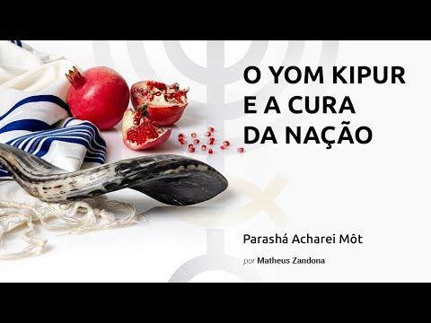 O Yom Kipur e a Cura da Nação - Parashá Acharei Môt - Prof. Matheus Zandona - 5776/2016