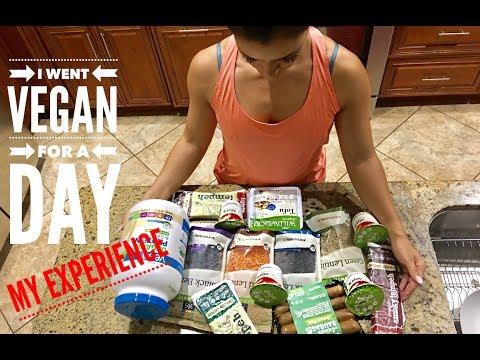 I WENT VEGAN FOR A DAY | MY EXPERIENCE | Bikini prep series Vlog #47,48