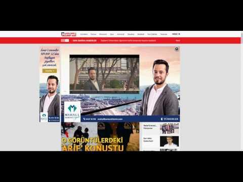 Mahall Bomonti İzmir Hürriyet Rich Media Çalışması