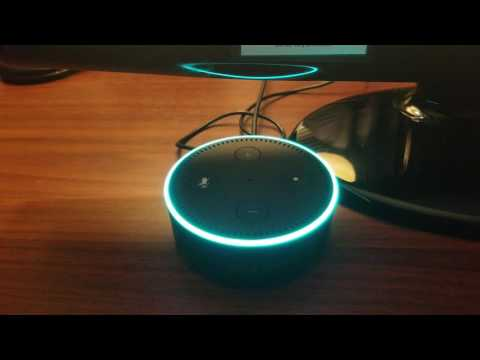 Hilarious amazon echo version of  the song Splish Splash!