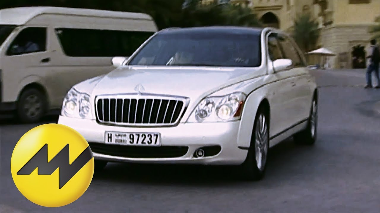 maybach 62 s: motorvision testet den luxusliner in dubai - youtube