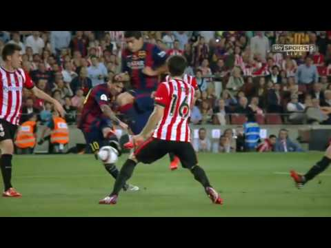 Barcelona - Athletic Bilbao 3 - 1 2015 Copa Del Rey Final Highlights