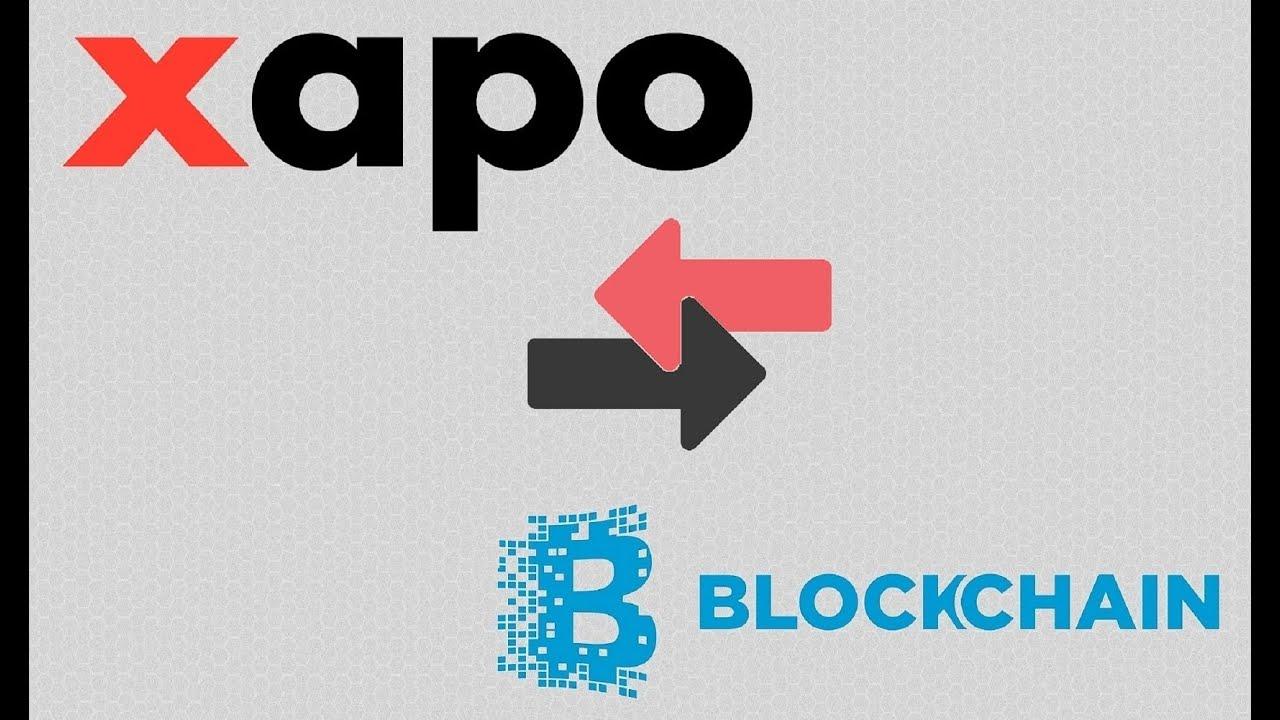 Xapo как скинуть на главный кошелек