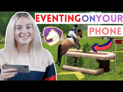 Eventing On Your Phone! Equestriad World Tour Play Through AD | This Esme