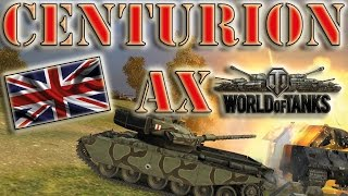 World of Tanks /// Centurion AX - Ace Tanker, Top Gun