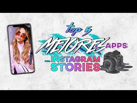 TOP 5 MEJORES APPS PARA HACER INSTAGRAM STORIES | Daily Vintage