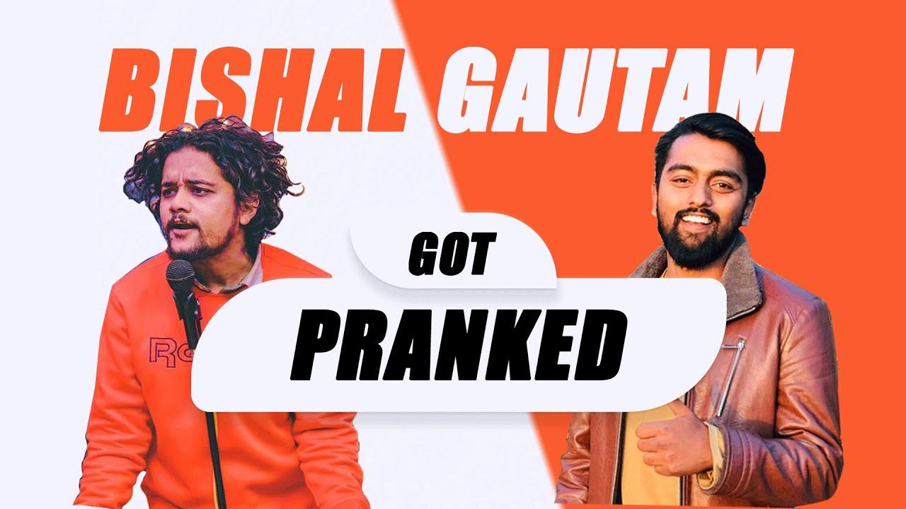 Bishal Gautam Got Pranked || Fake Advertisement Prank
