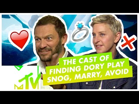 Finding Dory Cast Play Snog/Marry/Avoid: MARINE CENTRE EDITION | MTV