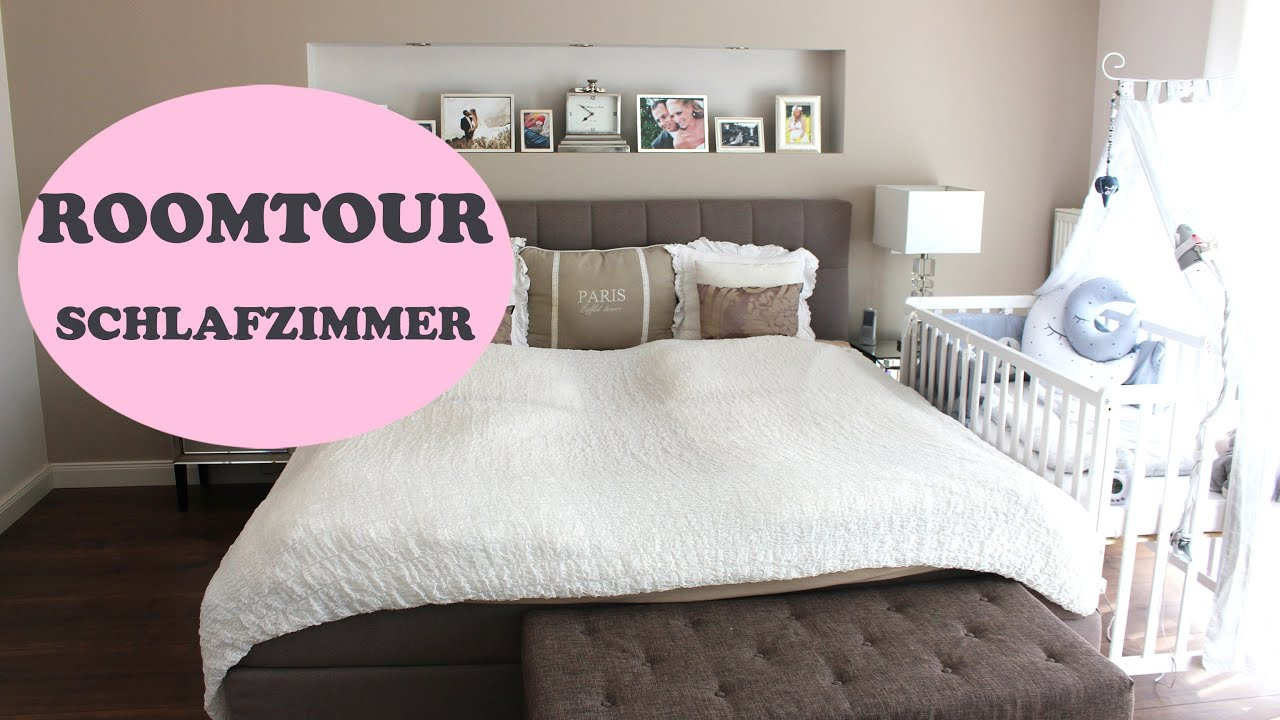 ROOMTOUR Schlafzimmer - YouTube