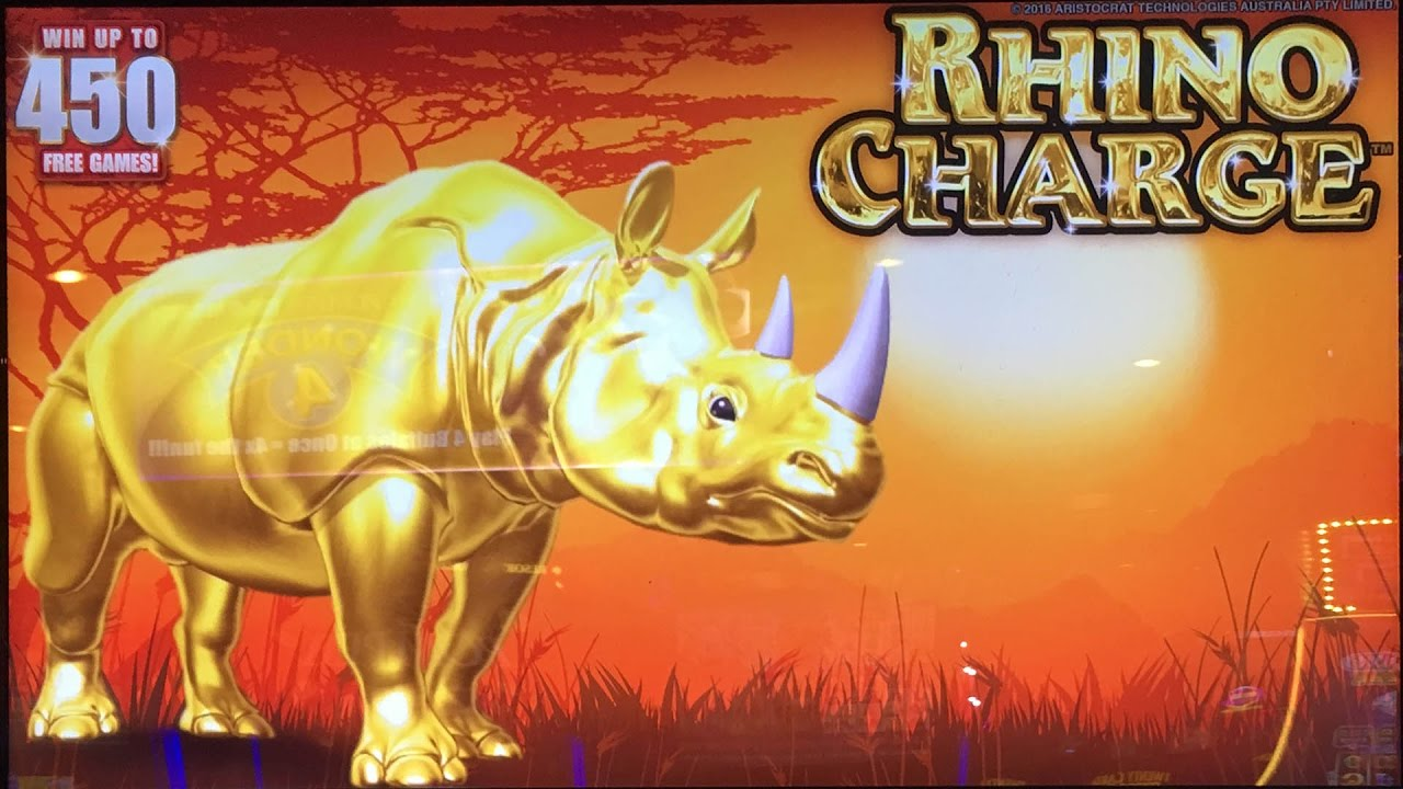 Rhino slot machine jackpot