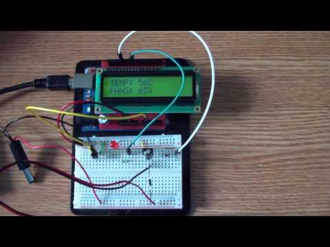 Arduino Automatic Temperature Fan Speed Controller