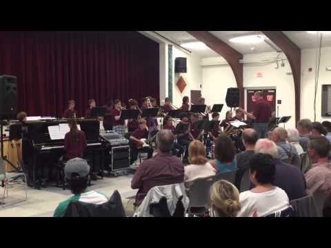 Greely Middle School Jazz Band - May (1 of 2)
