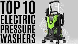 Top 10: Best Electric Pressure Washers of 2021 / Power Washer / Car, Garden Machine Cleaner