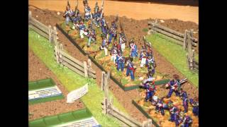 Battle 93. Tex-Mex Encounter Battle. Texas Revolution. Black Powder. 28mm.