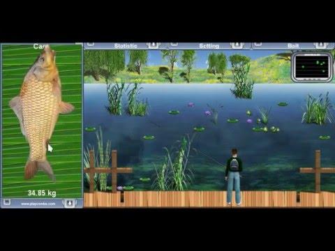 Lake Fishing Green Lagoon - Online Fishing Simulator