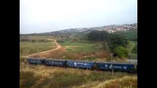 X76,trem de locoman,remota tripulada,locomotiva 9819 lider AC 44!,