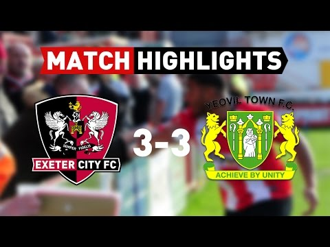 Exeter City 3 Yeovil Town 3 (25/3/17) EFL Sky Bet League 2 Highlights