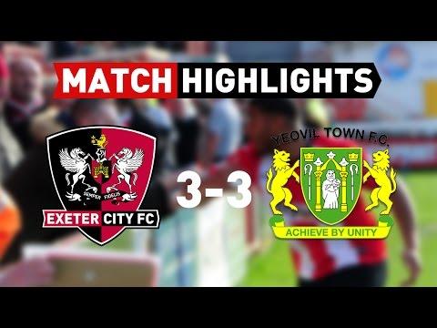 Exeter City 3 Yeovil Town 3 (25/3/17) EFL Sky Bet League 2 Highlights
