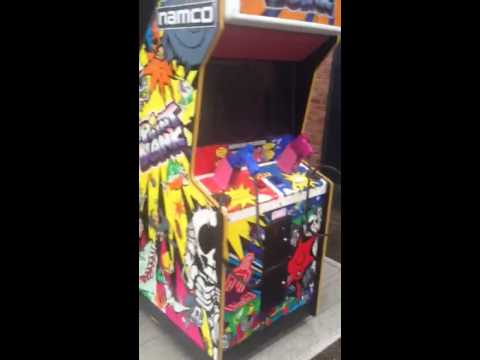 National Arcade Hire - Point Blank Arcade Machine - YouTube