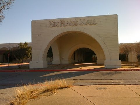 DEAD MALL:SIX FLAGS MALL:DAYS BEFORE DEMOLITION!