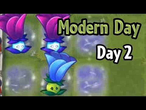 Plants vs Zombies 2 - Modern Day - Day 2: Moonflower