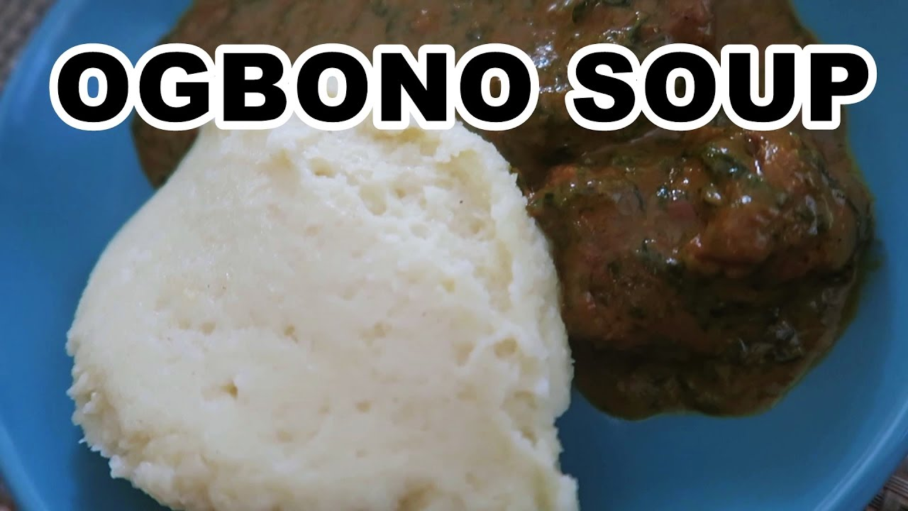HOW TO MAKE OGBONO SOUP - YouTube