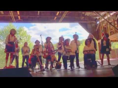10-1-16 Festival Barn Stage John C. Campbell Folk School Fall Festival