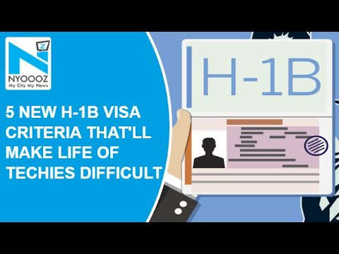Tougher H-1 B Visa Norms Could Hit Indian Firms | Donald Trump | US