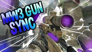 Gun Sync MW3 (MSR Sniper) | 60fps | DanielDCB