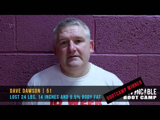 Dave Dawson Invincible Bootcamp Testimonial