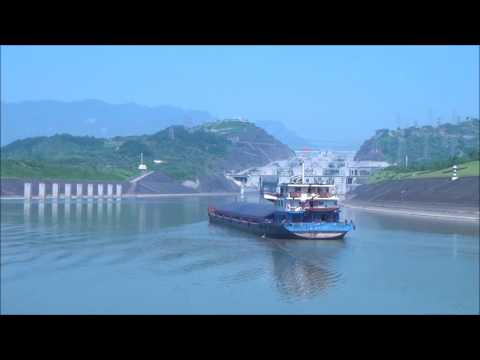 Three Gorges Dam Project On The Yangtze  (China May 2017)