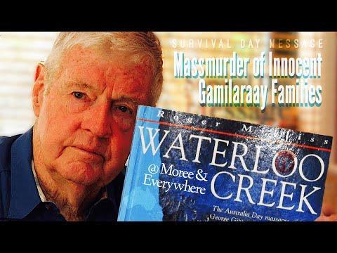 Roger_Milliss - Survival_Day_Message :: Massmurder_of_Gamilaraay_Families @ Waterloo_Creek