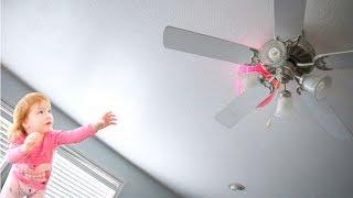 HIDDEN EASTER EGGS!! (stuck in the fan)
