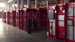 Завод TDT в городе Wuxi в кнр. Грузовые подъемники.(через YouTube Объектив., 2017-02-19T06:18:34.000Z)