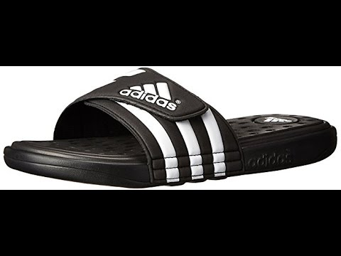 5bdec917049a5 adidas Men s Adissage SC Slide Sandal - YouTube