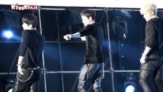 [FanCam]140301 Nichkhun at Nanning Is My party - A.D.T.O.Y