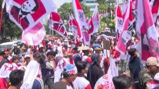 [Liputan] Orasi Pendukung Prabowo Hatta dalam Gardu Prabowo