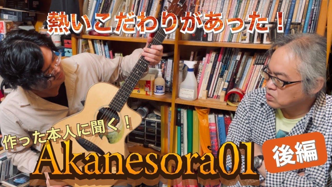 【後編】僕のメインギター(Akanesora01)の解説 in ResonanceGuitars