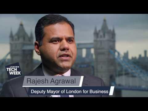 London Tech Week Ambassador - Deputy Mayor, Rajesh Agrawal