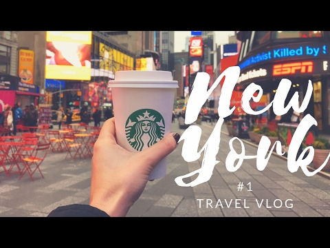 NEW YORK: un sogno realizzato | VLOG VIAGGIO NEW YORK #1| Gennaio 2017