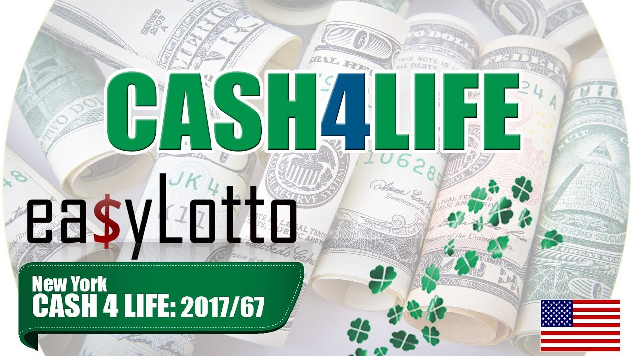 New York CASH4LIFE numbers 21 Aug 2017 - YouTube