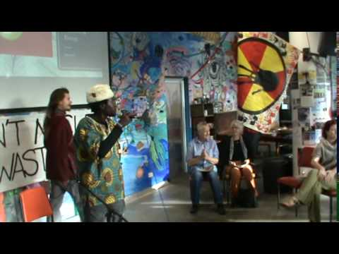 *STOP NUCLEAR WASTE* ... musical poetry, Canberra