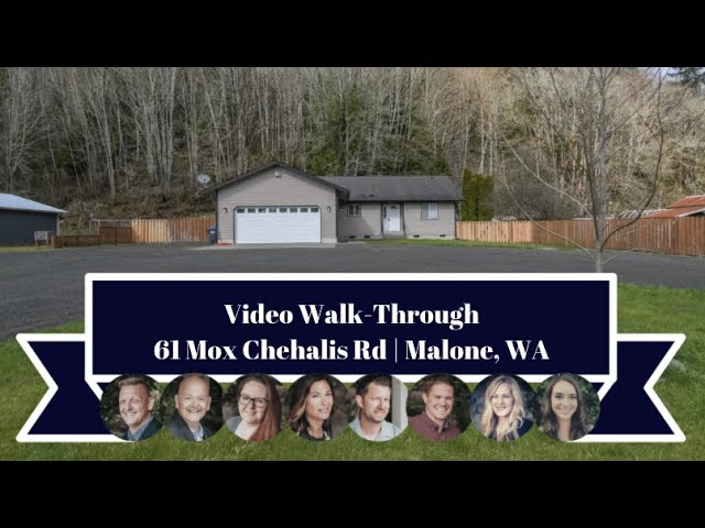 61 Mox Chehalis Rd | Malone, WA | Video Walk-Through