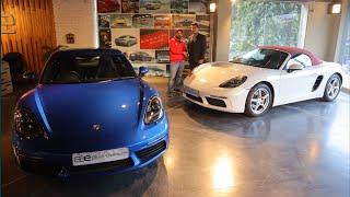 Porsche Super Sports Cars | Porsche Convertible VS Hardtop | Porsche Cayman & Porsche Boxster 718