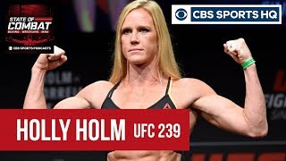 """Holly Holm on her bout against Amanda Nunes: """"I'm different."""" 