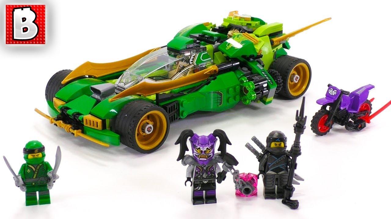 Lego Ninjago 70641 Ninja Nightcrawler Unbox Build Time Lapse