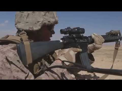 2/7 Fox & Golf Marines Conduct Platoon Attacks