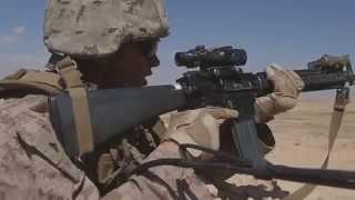 2/7 Fox & Golf Marines Conduct Platoon Attacks