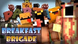 Minecraft Breakfast Brigade : MARIO PARTY PANIC!
