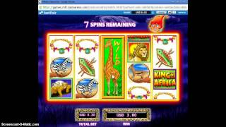 Betfair Vegas Slot - King of Africa